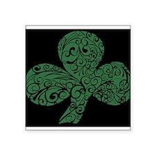Shamrock Curl Design Sticker