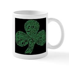 Shamrock Curl Design Mug