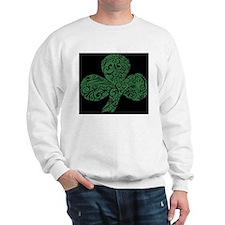 Shamrock Curl Design Sweatshirt
