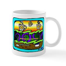 Caffeine and Anger Small Mugs