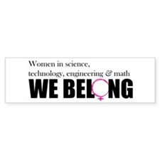 We Belong-horizontal Bumper Bumper Sticker