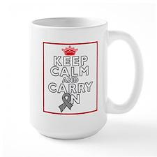 Parkinsons Disease Keep Calm Carry On Mug
