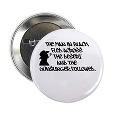 """The Man in Black... 2.25"""" Button"""