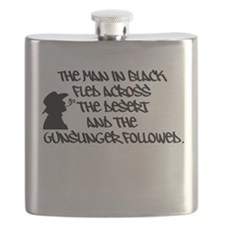 The Man in Black... Flask