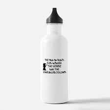 The Man in Black... 1.0L Water Bottle