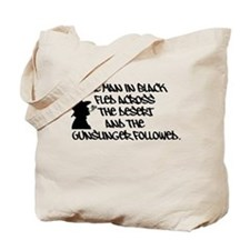 The Man in Black... Canvas Tote Bag