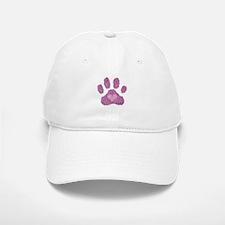 Pink Posh Paw Baseball Baseball Cap