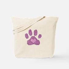 Pink Posh Paw Tote Bag