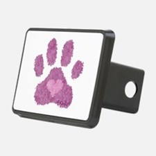 Pink Posh Paw Hitch Cover