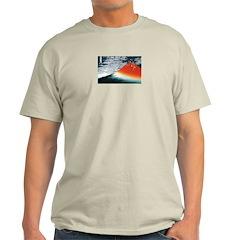 Hokusai fujiyama Ash Grey T-Shirt