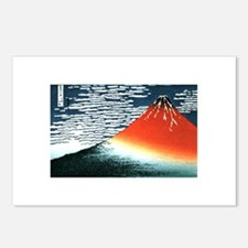 Hokusai fujiyama Postcards (Package of 8)