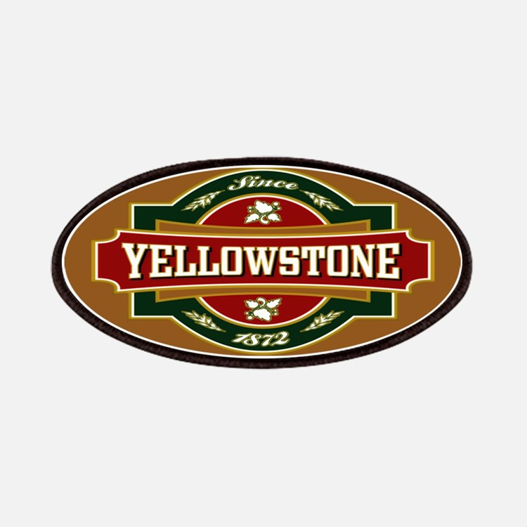 Yellowstone Old Label Patches