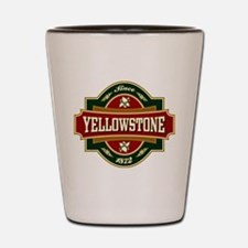 Yellowstone Old Label Shot Glass