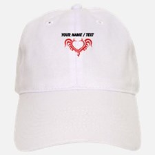 Custom Devil Horns Heart Baseball Baseball Baseball Cap