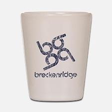 Vintage Breckenridge Shot Glass