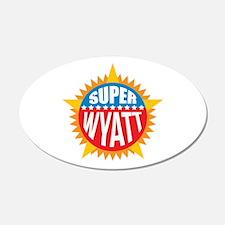 Super Wyatt Wall Decal