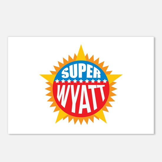 Super Wyatt Postcards (Package of 8)