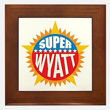 Super Wyatt Framed Tile