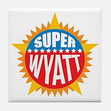 Super Wyatt Tile Coaster