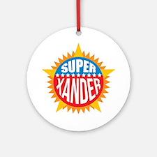 Super Xander Ornament (Round)