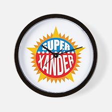 Super Xander Wall Clock