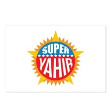 Super Yahir Postcards (Package of 8)