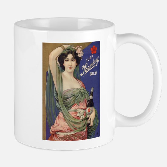 Japan, Beer, Vintage Poster Mug