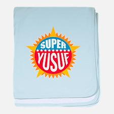 Super Yusuf baby blanket