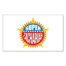 Super Zachariah Decal
