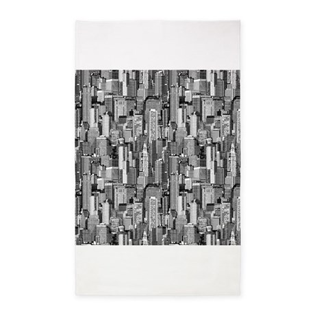 Big City 3x5 Area Rug