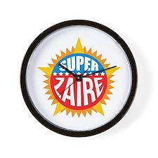 Super Zaire Wall Clock