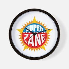 Super Zane Wall Clock