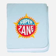 Super Zane baby blanket