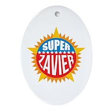 Super Zavier Ornament (Oval)