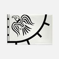 Gunnhrafn Logo Rectangle Magnet