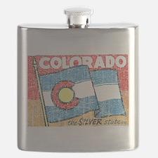 Vintage Colorado Flask