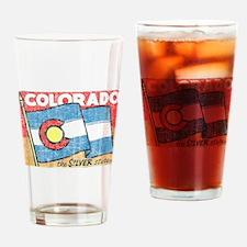 Vintage Colorado Drinking Glass
