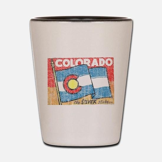 Vintage Colorado Shot Glass