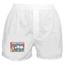 Vintage Colorado Boxer Shorts