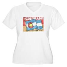 Vintage Colorado Plus Size T-Shirt