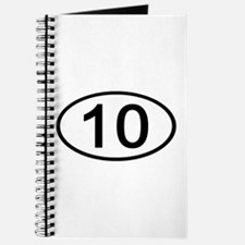 Number 10 Oval Journal