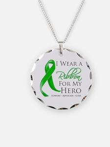Ribbon Hero MITO Awareness Necklace