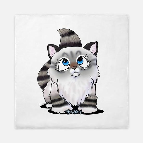 Cutieface Kitten: Ragdoll Queen Duvet