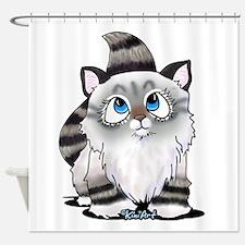 Cutieface Kitten: Ragdoll Shower Curtain