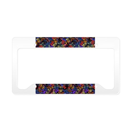 Butterfly Effect License Plate Holder