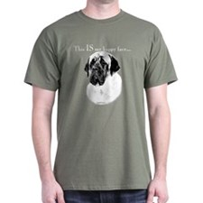 Mastiff Happy Face T-Shirt