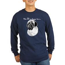 Mastiff Happy Face T