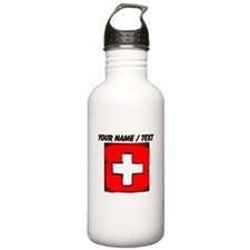 Custom Switzerland Flag Water Bottle