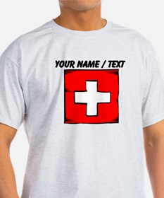Custom Switzerland Flag T-Shirt