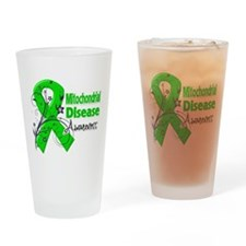 Mitochondrial Disease Awareness Drinking Glass